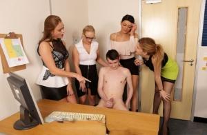 Nude Mature Reverse Gangbang Pics