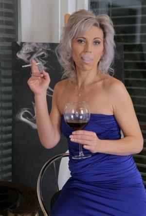 Nude Mature Smoking Pics